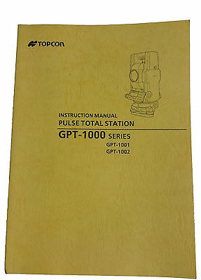 New Topcon Total Station Manuals