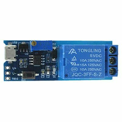 Wide voltage 5V-30V trigger relay module, timer module, time delay switch A7X5