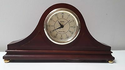 **VINTAGE** Acctim Napoleon Hat Quartz Clock With Westminster Chimes Collectable