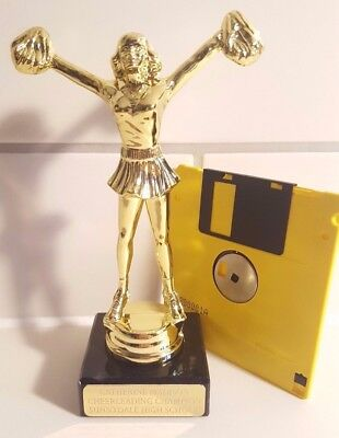 Buffy - Catherine Madison Cheerleader Trophy - Prop replica & Yellow Disc