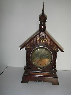 Vintage Smiths Car Clock Bezel Wind Circa 1920's in Swiss? Case Working Order