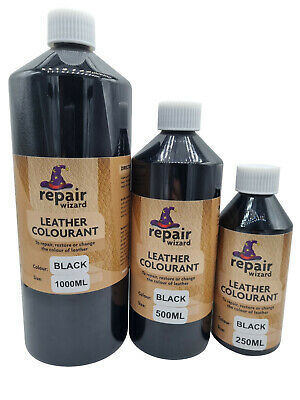 Leather & Vinyl Repair Dye Stain Pigment Paint Colourant Recolour Faded Worn