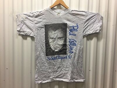 Phil Collins Ultra Rare 1985 Vintage Concert Tour T Shirt Size L