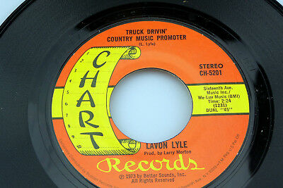 Lavon Lyle: Truck Drivin' Country Music... / Warm, Warm Days...  [Unplayed Copy]