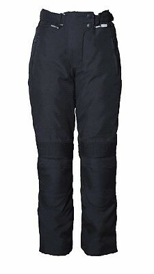 Women's Motorcycle Waterproof Trousers, Motorbike Textile Pants Ladies CE Armour