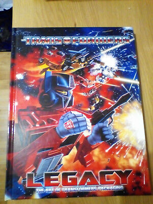Transformers Legacy: The Art of Transformers Packaging Hardcover