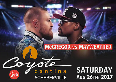 FLOYD MAYWEATHER v CONOR McGREGOR BOXING 27 POSTER PHOTO PRINT