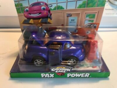 The Chevron Cars Pax Power Blue Car New in Package