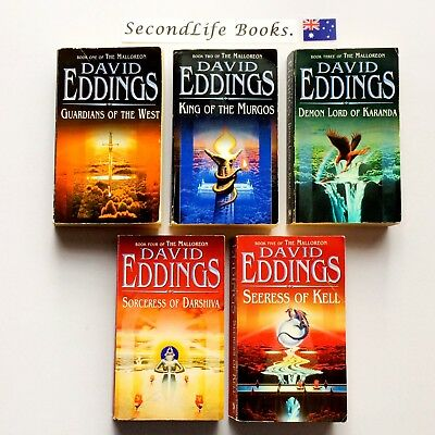 THE MALLOREON (COMPLETE 5 Book Series) ~ David Eddings. Fantasy.