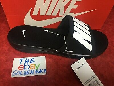 34357b190991 New Nike Men s Ultra Comfort 3 Slide Sandals Black White Black AR4494 003