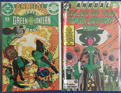 Tales of the Green Lantern Corps Annual #1 - #3 - Complete! - High Grade!