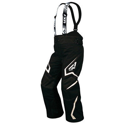 2015 Youth FXR Black & White Helix Insulated Snowmobile Pants w/ F.A.S.T