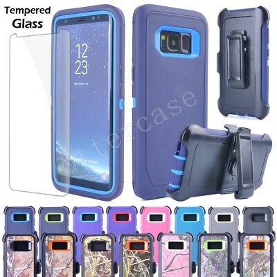 For Samsung Galaxy Note8/ S8 Plus Rugged Case Cover(Clip Fits Otterbox Defender)
