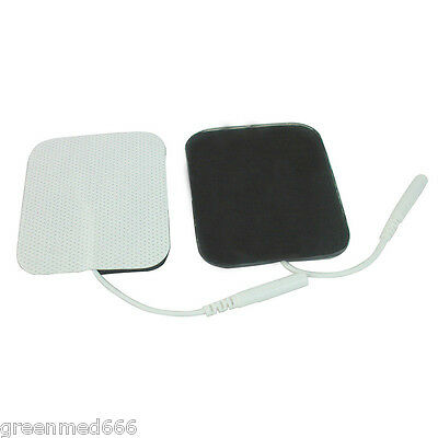 20PCS Replacement electrode Pads for Pulse Massagers Tens Units 2x2Inch / 5*5cm