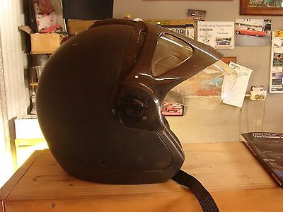 motor bike open face helmet nolan