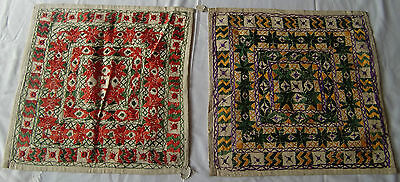 Beautiful Handmade Old Vintage Patch Work Cushions/pillow Cover India Fine Art12