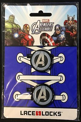 Marvel Avengers Assemble Lace Locks ~ new in package