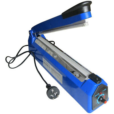 300mm Hand Impulse Sealer Heat Seal Machine Poly Plastic Bag Film Sealing