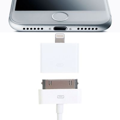 30 Pin Female to 8 Pin Male Adapter Charging Converter for iPhone 5S 6 7 iPad