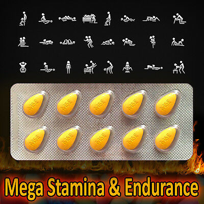 MEGA Stamina & Endurance STRONG Sex XXX Pills for HIM - SUPERCHARGE YOUR LIBIDO