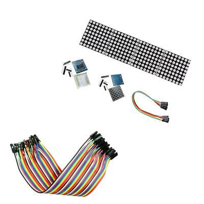 LED Dot Matrix Display Module for Arduino 20cm Male To Female Dupont Wire