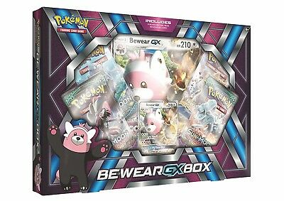 POKÉMON TCG Bewear GX Box Pokemon - GREAT GIFT IDEA - BNIB