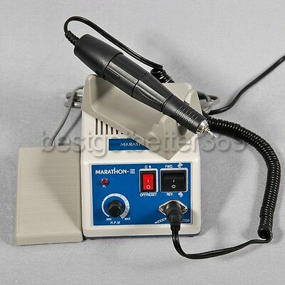 Dental Lab Micromotor Polishing Micro Motor Handpiece Marathon 35K RPM Motor NEW