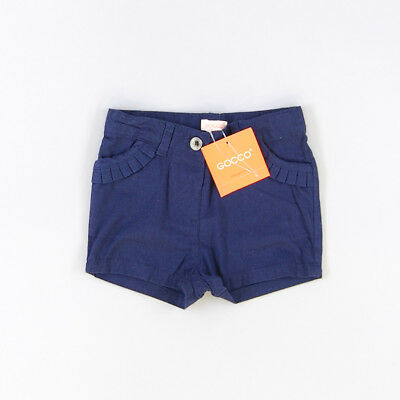 Short color Azul marca Gocco 3 Meses