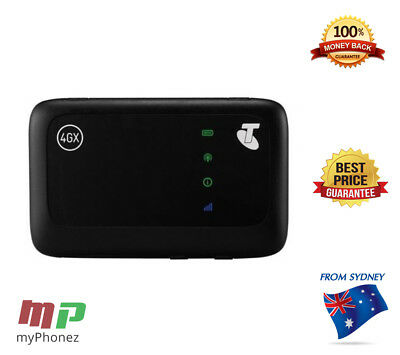 Unlocked Prepaid Pocket WiFi Modem ZTE MF910Z =Dual Port Antenna = AUSSIE STOCK
