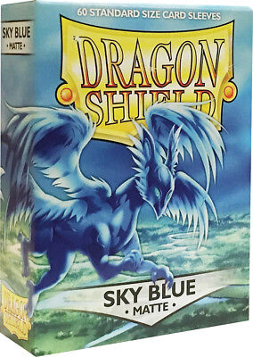 Dragon Shield Sky Blue Standard Size Card Sleeves (60ct) FFGDSH219