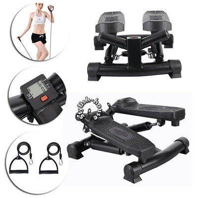 Aerobic Exercise Stepper Fitness Air Stair Climber Stepper Ropes Workout Leg Arm