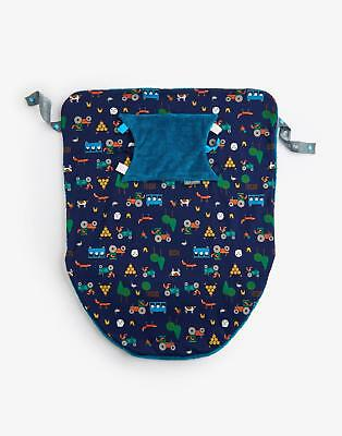 Joules Cheeky Baby Blanket in Renards Farmyard in One Size