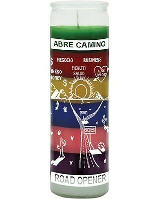7 Colour Road Opener Candle