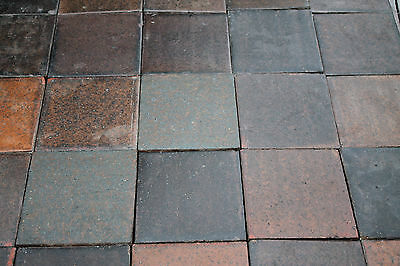 Reclaimed Quarry Tile (6x6) Polished.Heather Brown/Brindle