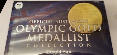 2000 Official Australian Olympic Gold Medallist Collection And All Medallion's