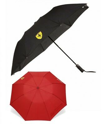 New Ferrari SF Compact Umbrella Black Red Ferrari SF fan collection from Japan