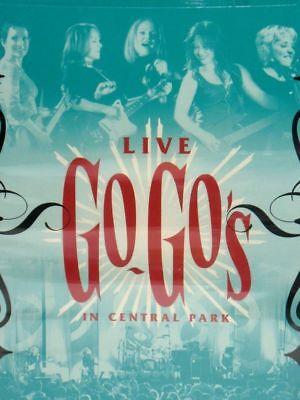 New Dvd - Go - Go's Live In Central Park -  5.1 Audio - 18 Tracks - Concert
