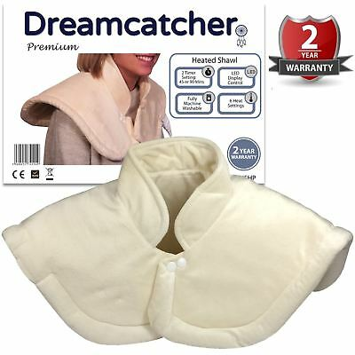 Heat Therapy Neck And Shoulder Collar Warmer Wrap Electric Heated Pad