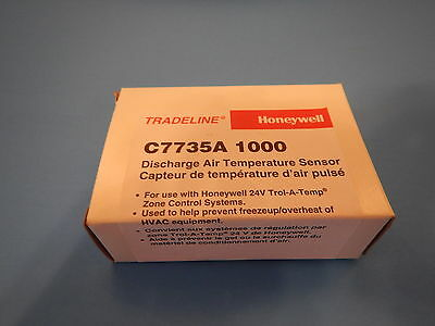 Honeywell Tradeline C7735A 1000 Discharge Air Temperature Sensor