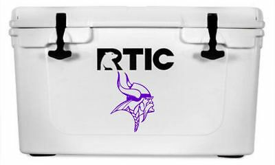 a3c742189b8 MINNESOTA VIKINGS DECAL Sticker For Yeti RTIC Cooler Truck -- 6