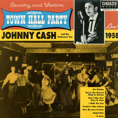 Johnny Cash - At Town Hall Party 1958 (180g) - Vinyl Country