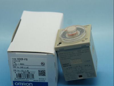 1PC New in box OMRON Twin Timer H3CR-F8 100-240VAC H3CRF8 0.12s-30