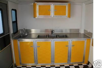 "Cargo & Concession Trailer ""Custom"" Base Cabinets"