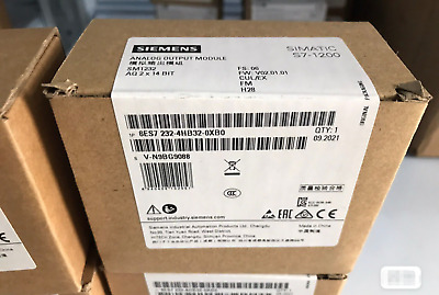 1Pcs Siemens S71200 Plc Module 6Es7232-4Hb32-0Xb0 In Box -New Free Ship