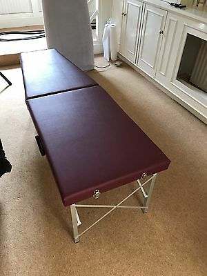 Chiropractic Tool - treatment couch portable with case mactimoney - UNUSED