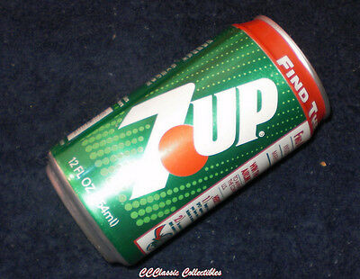 """Seven Up Find the Cool Spot and Win 7Up 12 oz can """"Cool Spot"""" promotion"""