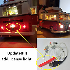 LED Lighting Kit for LEGO 10220 VW CAMPER VAN (NO LEGO MODEL INCLUDED)