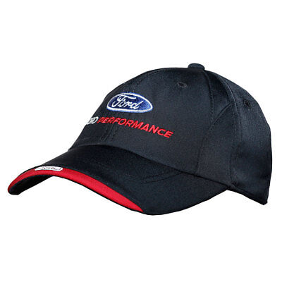Ford 1416610 Apparel Hat w/ Ford Performance Logo Black w/ Red