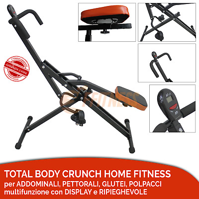 Offerta Total Body Crunch Home Fitness Trainer Con Display Lcd