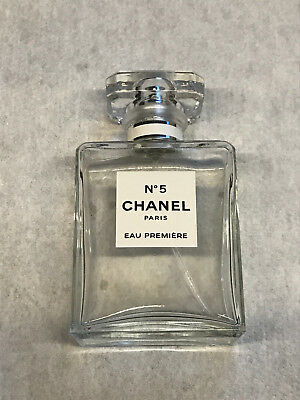 CHANEL No5 ORIGINAL perfume spray Eau Premiere Paris  bottle EMPTY Number 5